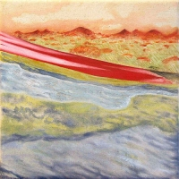 '02:53.20', 2009, oil on canvas, 30 x 30 cm